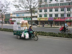 A tricycle-truck in Liaocheng, by Frank Starmer